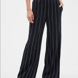 🌿B&W Striped Wide Leg Pants